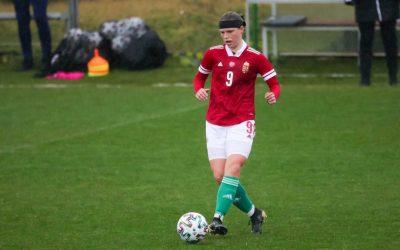 Savanya Csilla a felnőtt válogatottban is helytállt